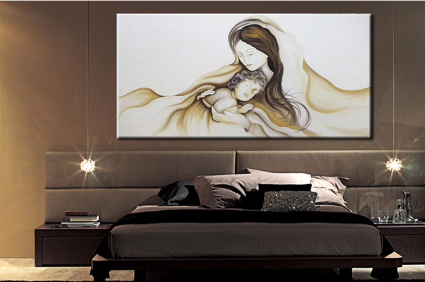 Chiara chironna idee d 39 arredo camera da letto for Quadri decorativi arredamento